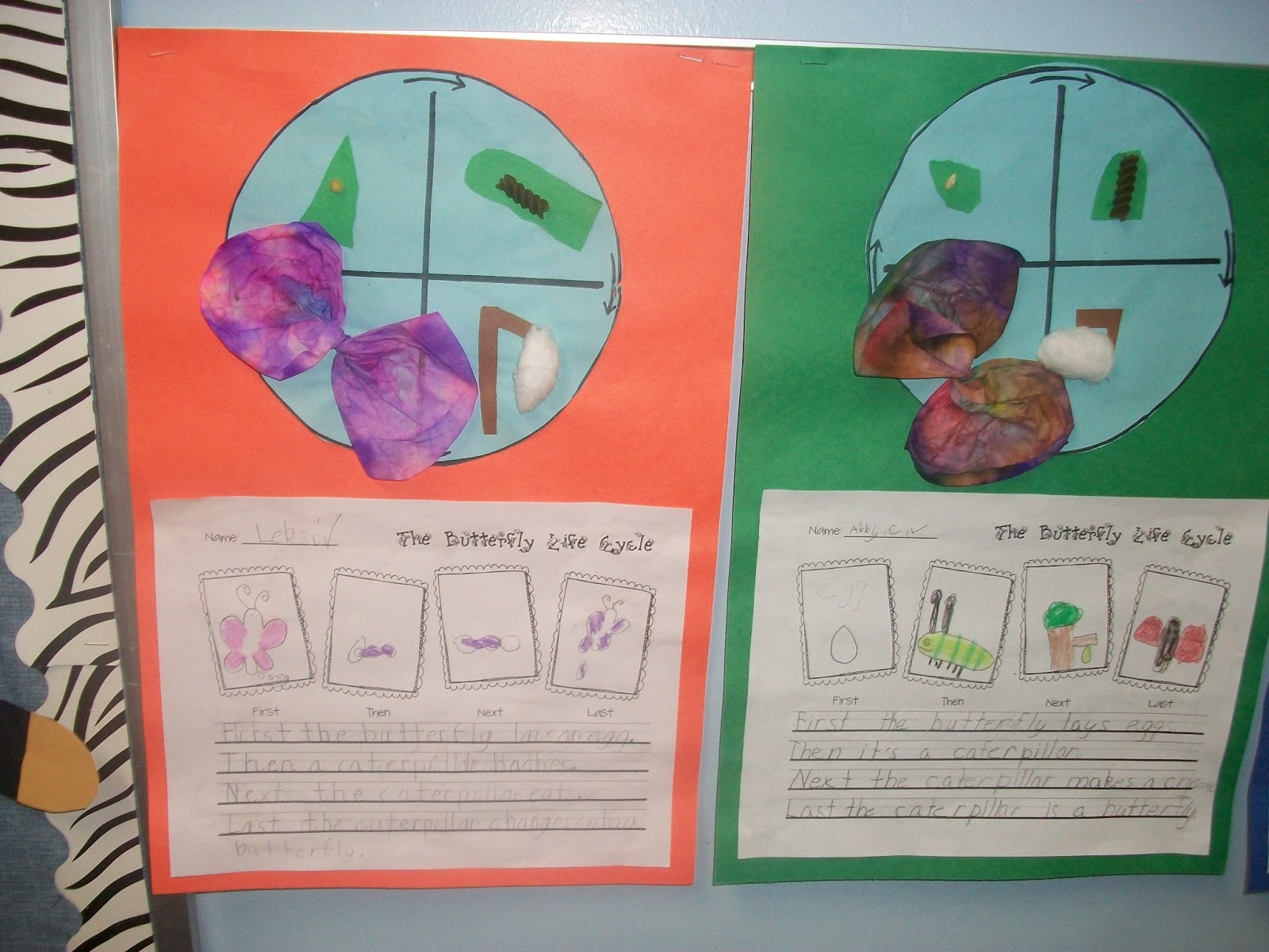 The Very Busy First Graders Butterflies Peanut Butter