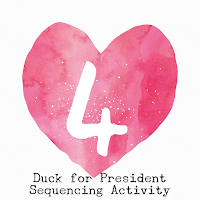Duck for President Sequencing Activity is a great companion to the book and encourages students to build their comprehension and re-telling abilities.