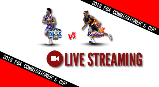 Livestream List: NLEX vs Rain or Shine May 2, 2018 PBA Commissioner's Cup