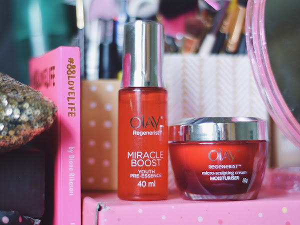 #MiracleDuo : Olay Regenerist Miracle Boost Youth Pre Essence & Micro Sculpting Cream Review