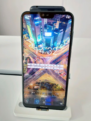 Nokia X6 Front Display on