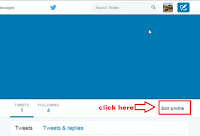 how to change background image in twitter profile