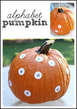 You Can Make Pumpkin Decorating Into A Learning Activity With This Alphabet Idea From I Teach My Child