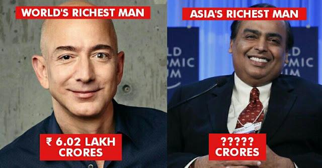 Mukesh Ambani - Hui Ka Yan ; Mukesh Ambani Beats Chinese Billionaire & Becomes Asia's Richest Man