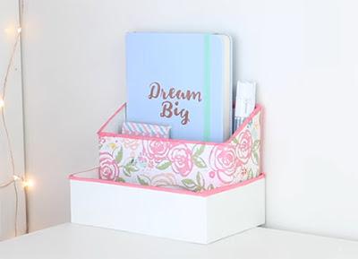 DIY 紙盒收納盒