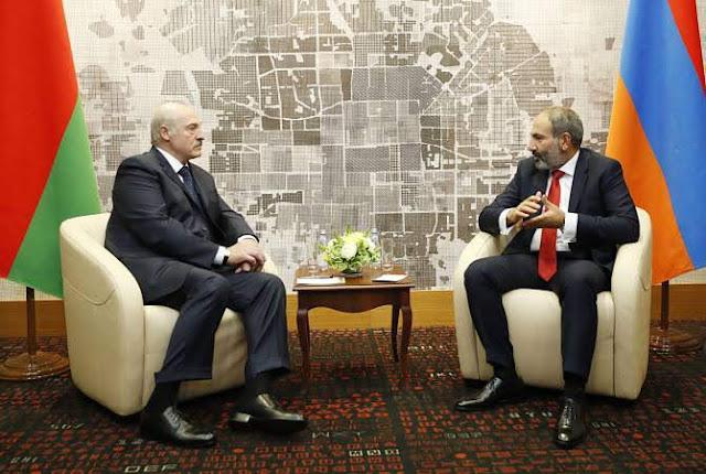 Pashinyan dice logró aclaraciones de Lukashenko