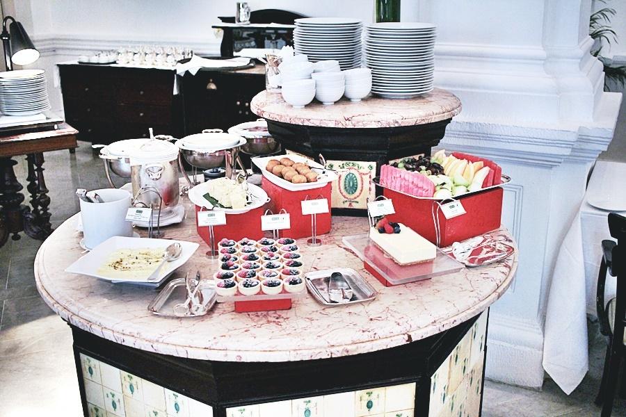 food selection dessert