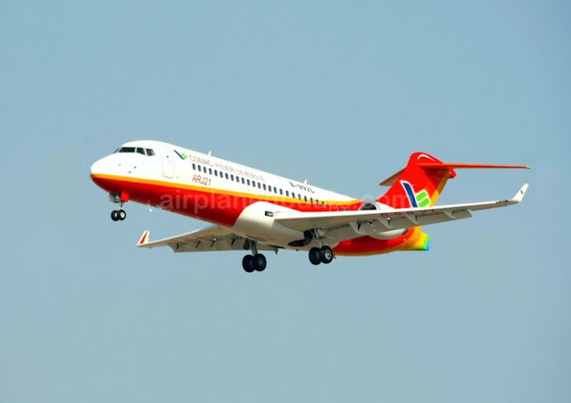 Comac ARJ21 regional jet