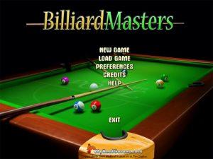 Billiard Master PC Game Full Version