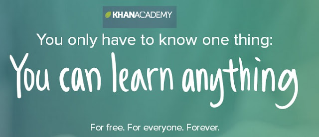 Pilih Minat Mu di Khan Academy
