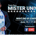 Mister Universe 2017 (Men Universe Model) LIVE STREAMING