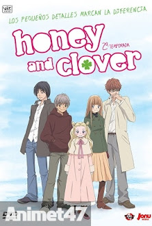 Honey and Clover Ss2 - Hachimitsu to Clover SS2 2006 Poster