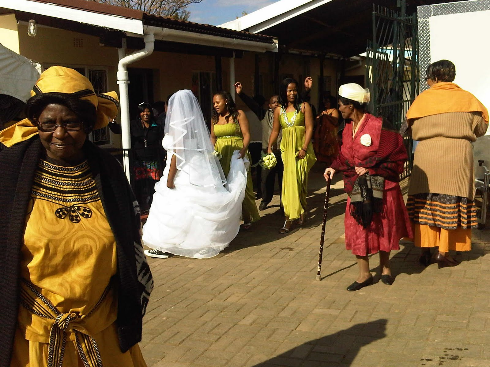 umabo traditional zulu wedding traditional wedding dress Me circling the entire Mfeka house in my wedding dress lol
