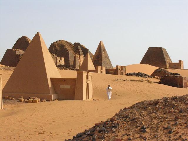 صور اهرامات السودان