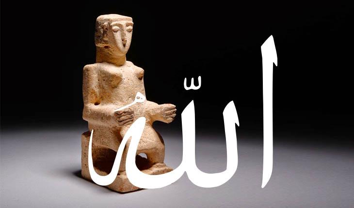 DP, din,islamiyet,Allah'ın kökeni,Eski arap tanrısı,Eski arap tanrısının yeni adı,Hubal,Hubal ve Allah, Al-ilah, Arap putperestliği,İslam öncesi Allah,Al-ilah'ın kızları,Menat,Lat,Uzza,