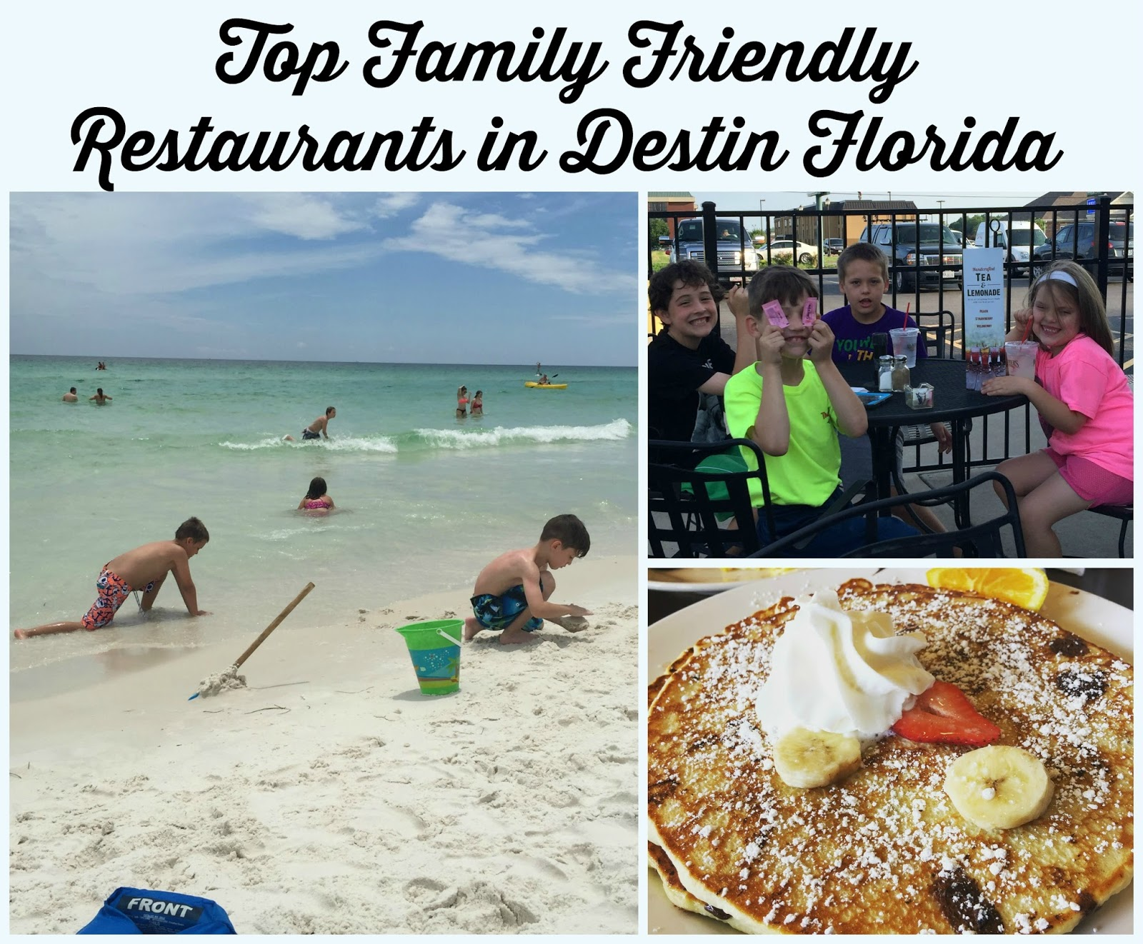 Top Restaurants To Take The Family In Destin Florida