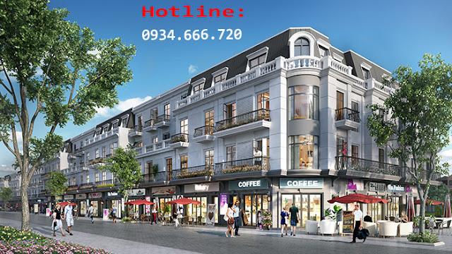 Khu phố thương mại Shophouse Thanh Hóa
