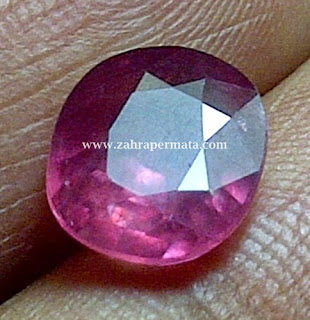 Batu Permata Pink Saphire - ZP 317