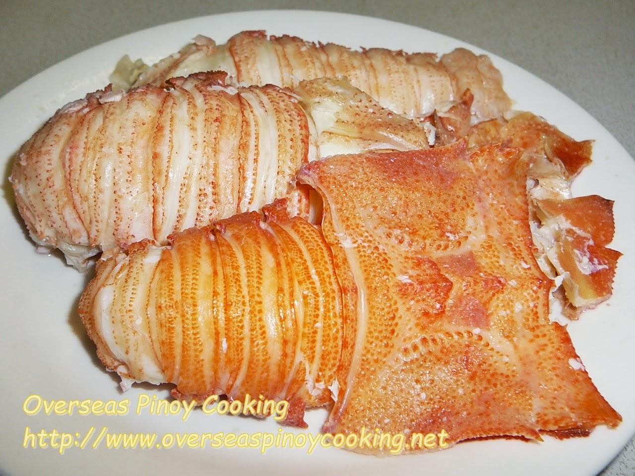 Slipper Lobster, Pitik - De-shelled