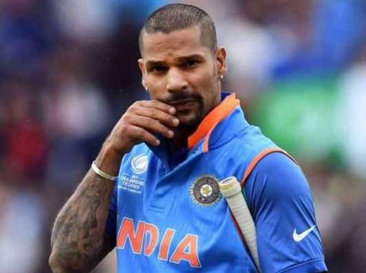 Shikhar Dhawan became the second Indian batsman to complete the fastest 5,000 in One International cricket