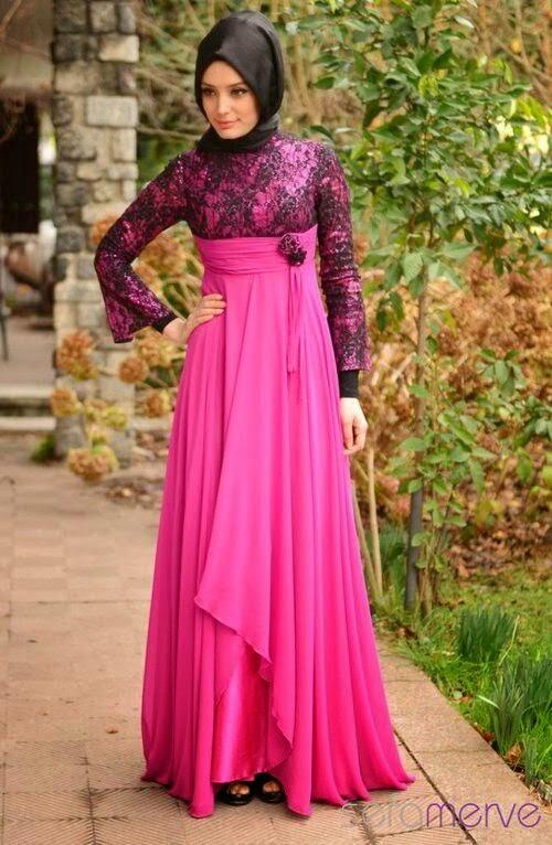 Model Baju Pesta Kebaya Terusan Model Baju Dan Gamis 2019