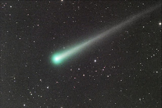 Image of Comet ISON imaged by Julian Durnwalder on 11-10-2013 using itelescope.net's T21 in Mayhill, New Mexico
