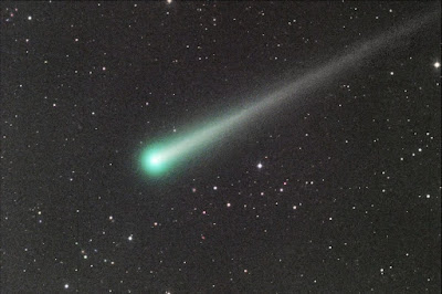 Comet ISON imaged by Julian Durnwalder on 11-10-2013 using itelescope.net's T21 in Mayhill, New Mexico