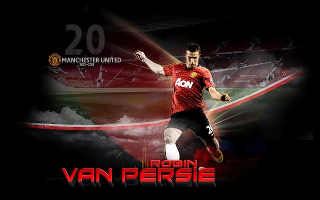 Wallpaper Robin Van Persie