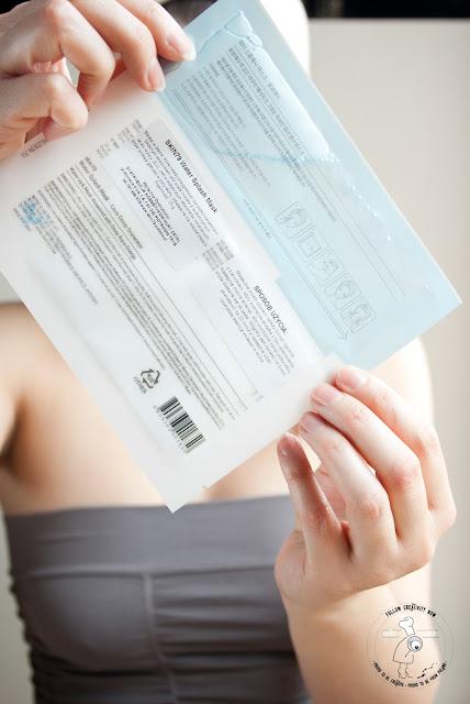 K-BEAUTY maseczka na płacie koreańska pielęgacja
