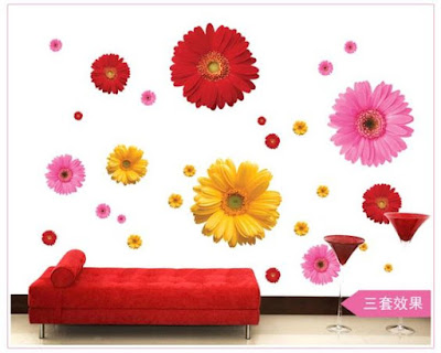 Flower 3D Wall Stickers