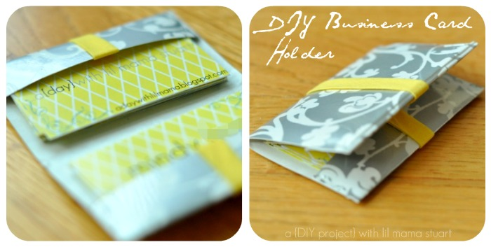 Diy Business Card Holder