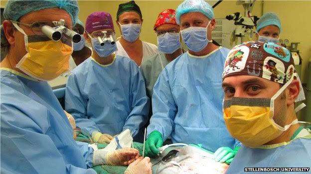 Doctors at South Africa perform the world's first succesful penis transplantation