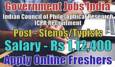 ICPR Recruitment 2018