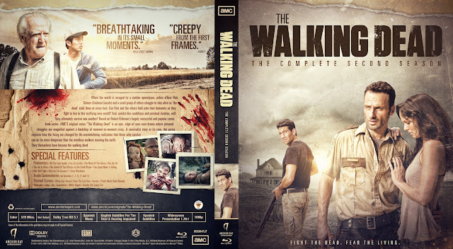 The Walking Dead Season 2 Bluray Cover