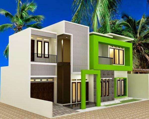 model rumah atap cor 2