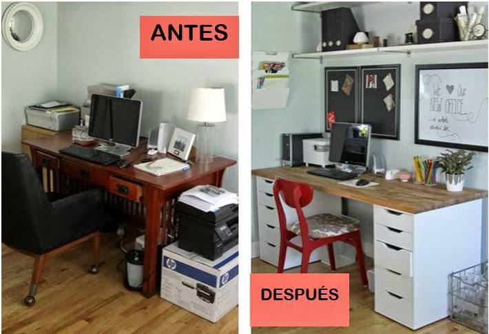 Antes y después de un despacho