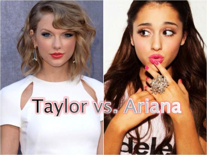 Taylor Swift Ariana Grande