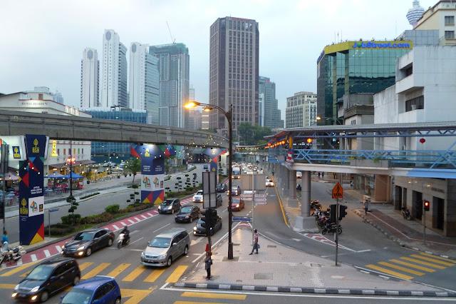 Wieczór w Kuala Lumpur