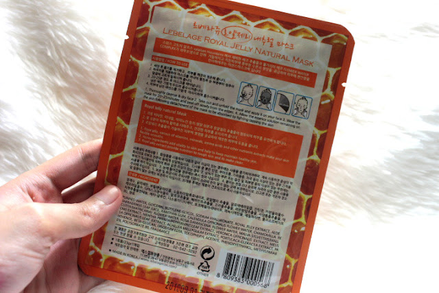 Lebelage Natural Sheet Masks Review