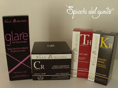 crema rigenerante e prodotti styling capelli