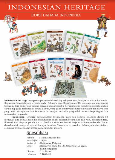 Jual Indonesian Heritage (Edisi Bahasa Indonesia)