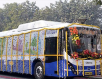 To Combat Air Pollution, Delhi Govt Starts Trails of Olectra BYD eBuzz K9 Electric Bus