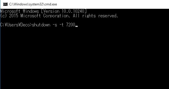 Gambar cara membuat shutdown otomatis dengan command prompt