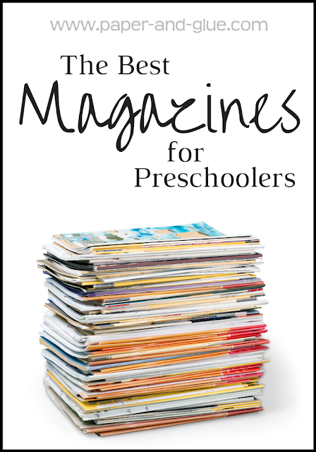 The Best Magazines For Preschoolers- Magazines are GREAT for preschoolers!  Consider giving a subscription to one of these great choices for a birthday or Christmas.