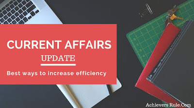 Current Affairs Updates - 8th May 2018
