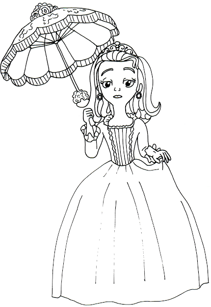 Coloring Pages  Sofia The First Coloring Pages Amber Coloring In  Elegant Valentine Coloring Pages