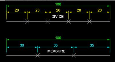 Perintah Kerja Divide dan Measure,Tutorial divide,Tutorial Measure di Autocad