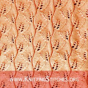 Free knitting stitch patterns ⋆