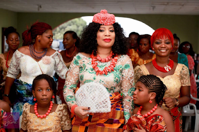 photos from Monalisa Chinda wedding
