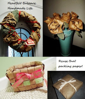 http://www.heartfeltbalancehandmadelife.com/2014/12/get-crafty-ideas-to-reuse-packing-paper.html